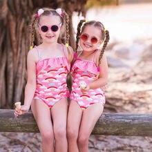 Детский слитный купальник malapina купальный костюм для маленьких