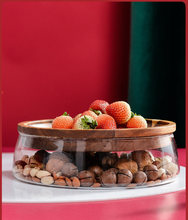 Акация мангиум японский орех фрукты конфеты тарелка Современная