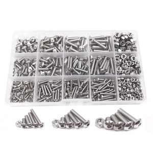 500pcs M3 M4 M5 A2 Stainless S