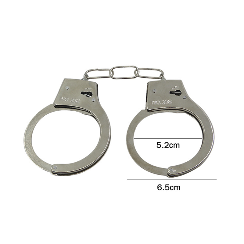 Cute Children Party Cosplay Toys Costume Halloween Props Party Favors Kids Party Role Play Handcuffs With Keys For Kids