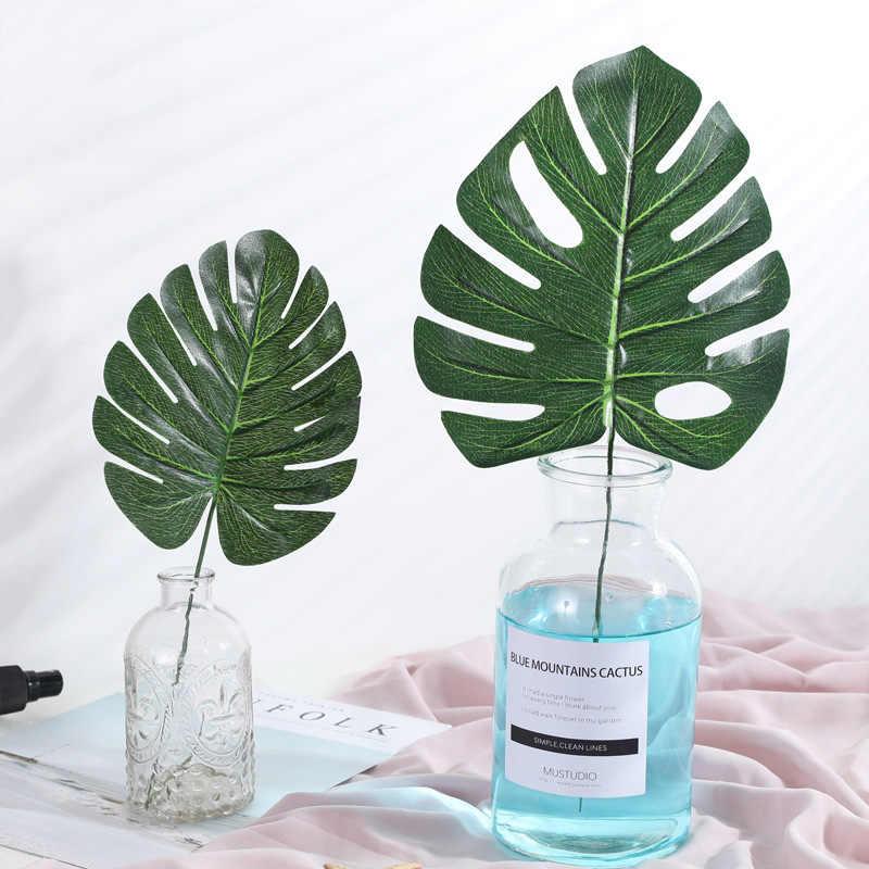 Feuilles artificielles en plastique feuilles de palmier GreenTropical feuille de Simulation pour décoration de jardin maison bricolage