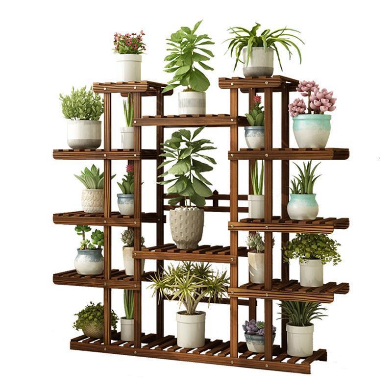 Flores Plantenrekken Indoor Stand For Plantenstandaard Soporte Plantas Interior Balcony Flower Stojak Na Kwiaty Rack Plant Shelf