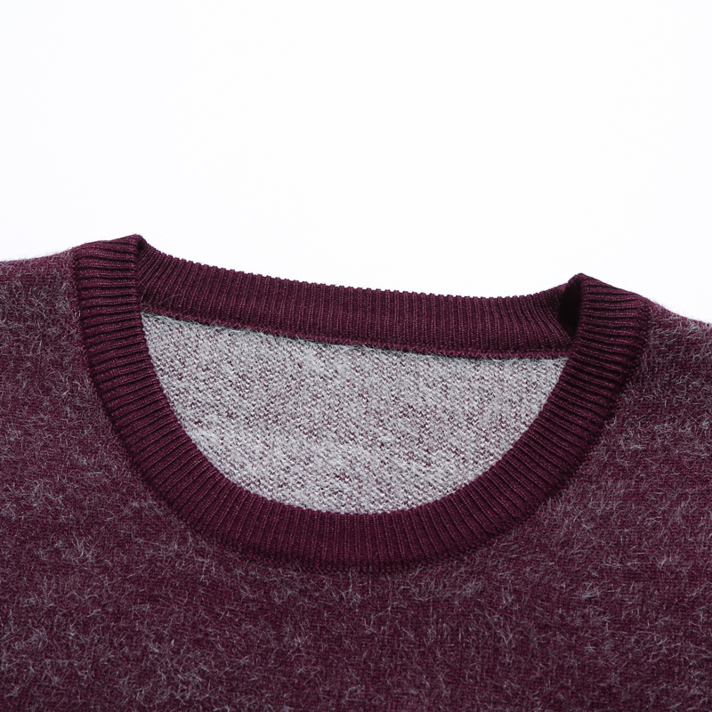 MarKyi 2020 fashion winter wool mens pullover turtleneck good quality letter print long sleeve sweater warm men