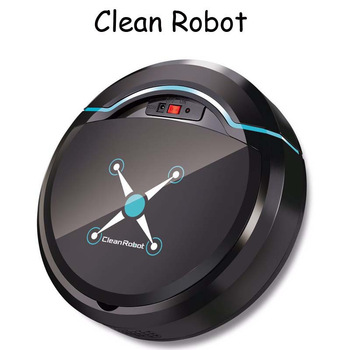 Rechargeable Auto Cleaning Robot Smart Sweeping Robot Floor Dirt Dust Hair Automatic Cleaner For Home Electric Vacuum Cleaners auto smart robot vacuum cleaner hand push floor electric mop machine sweeper rechargeable home automatic floor cleaning machine