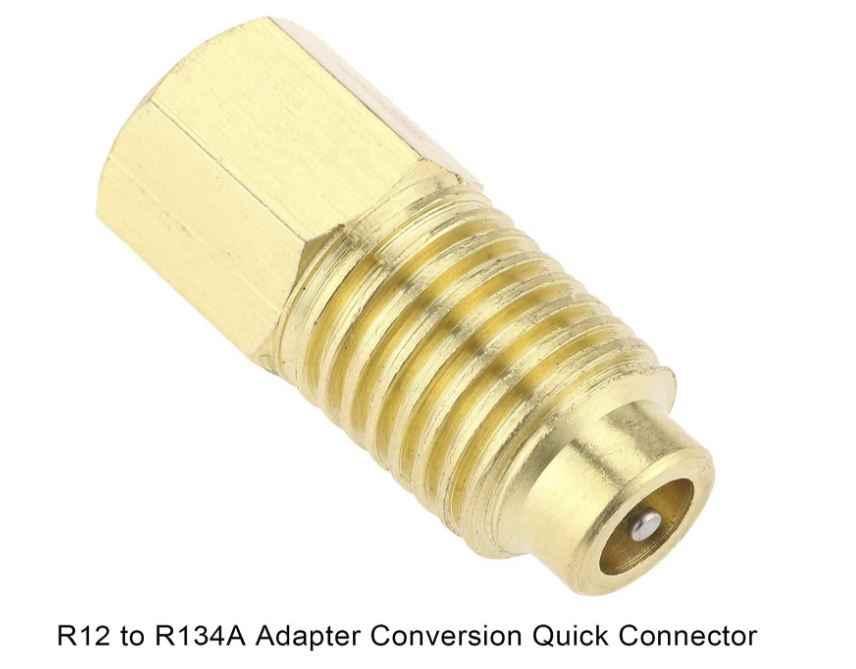 Kältemittel Schlauch Adapter R410a M x 1//4 FFL
