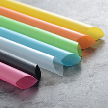 Extra Wide 1.3cm Colorful Bubble Tea Milk Drinking Straws Disposable Big Wide Straw Boba Tea Smoothie Straw Bar Party Supplies