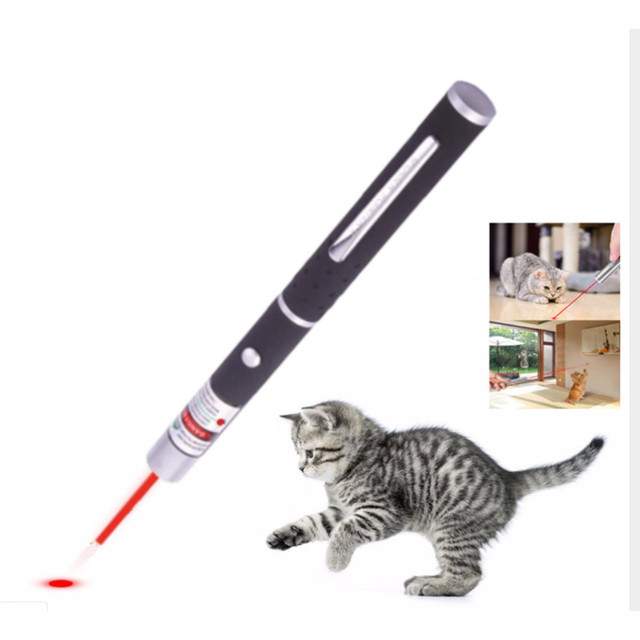 5MW LED Laser Pet Cat Toy Red Dot Light Sight 530Nm 405Nm 650Nm Interactive Pen Pointer- 2