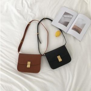 Image 3 - Vintage Women Shoulder Bags Designer Chic Flap Female Crossbody Bag Luxury Pu Leather Messenger Bags Fashion Lady Small Purses