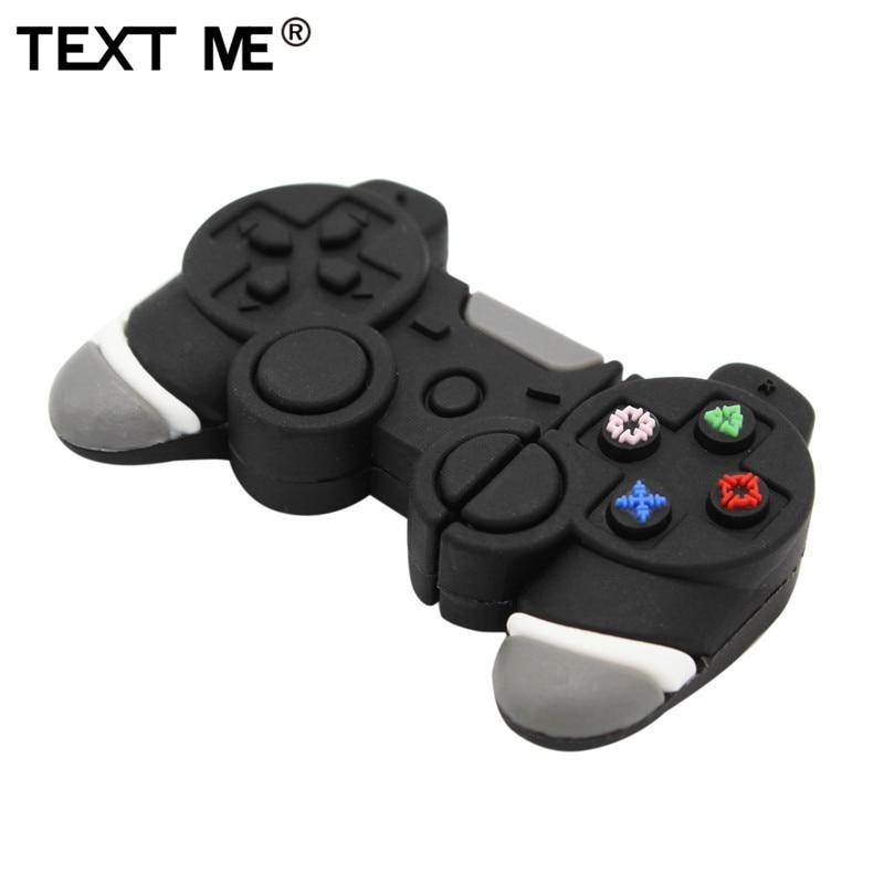 TEXT ME Cartoon Electronic Gamepad Model Usb2.0 4GB 8GB 16GB 32GB 64GB  USB Flash Drive Pendrive