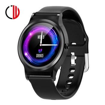 CZJW full screen touch smart watch C98 incoming call heart rate blood pressure waterproof message push sport mode smart bracelet