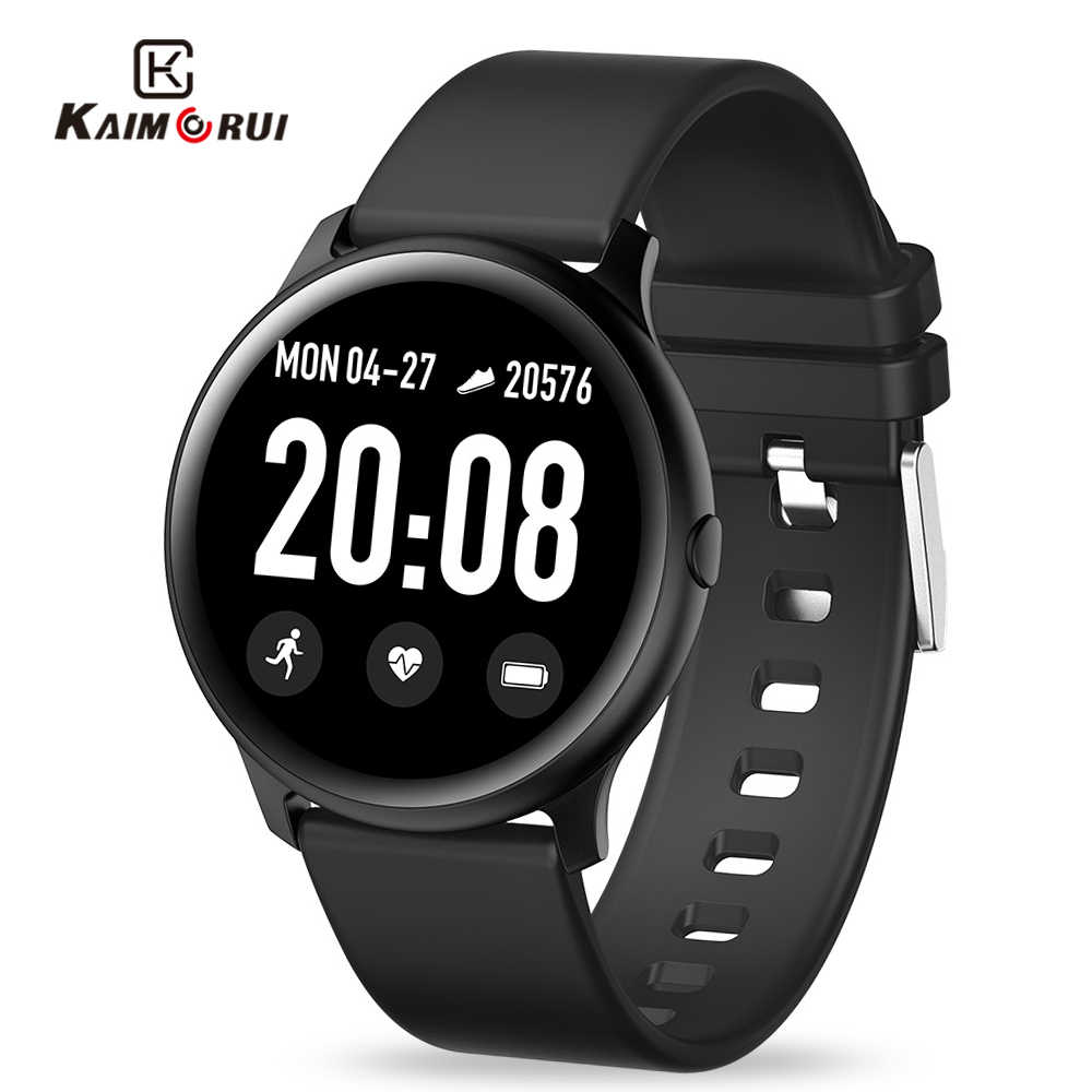 2019 Men Smart Watch Women Heart Rate Pedometer Bluetooth Smartwatch Call Message Reminder Ladies Smart Watches for Android IOS