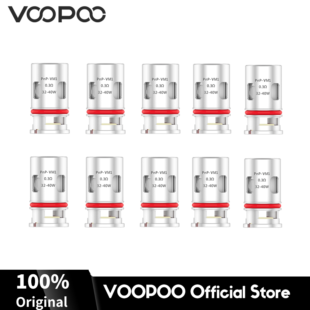VOOPOO PnP-VM1 Single Mesh Coils Core Head 0.3ohm Fit VINCI, Vinci X, Vinci R Mod Electronic Cigarette Replacement Coils