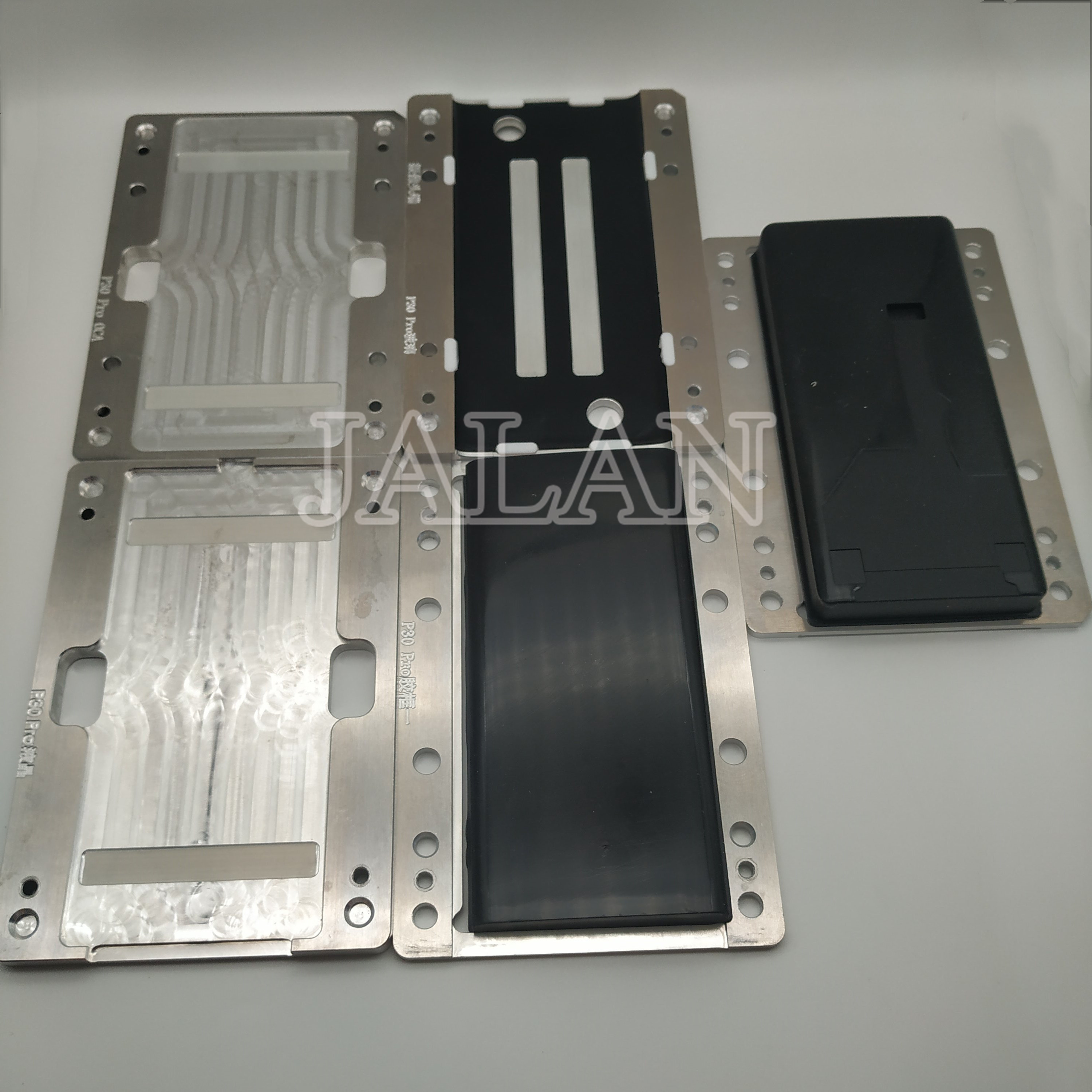 Ymj laminating mold for HUAWEI P30 Pro Glass OCA LCD Display refurbished repair laminate mould with alignment rubber|Phone Repair Tool Sets| |  - title=