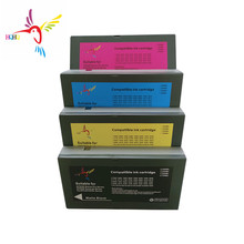 цена на T6122-T6124 T6128 empty Compatible Ink cartridge with one time chip for Epson 7450/9450 printer 7450 empty cartridge T6122