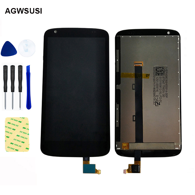 LCD For HTC Desire 526 526G LCD Display Screen Module Monitor + Touch Screen Digitizer Sensor Panel Glass Assembly Replacement