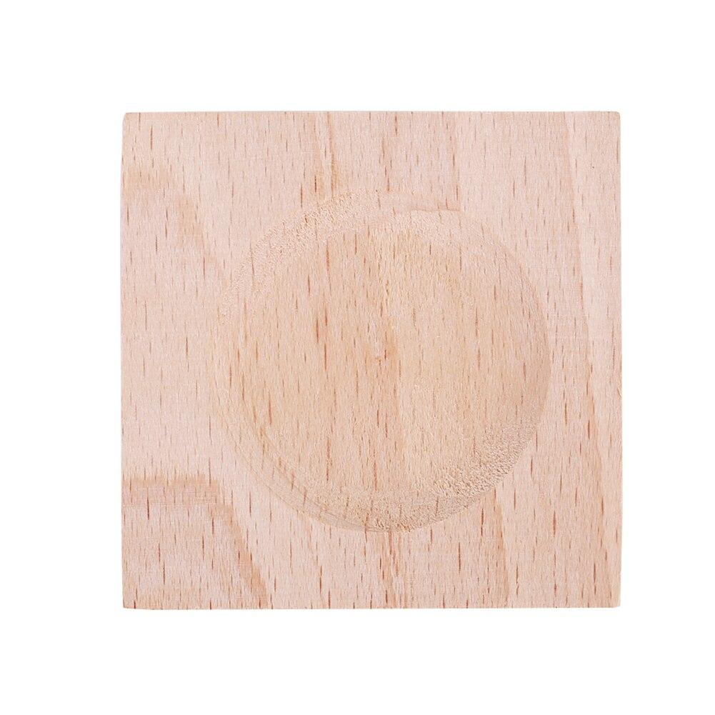 Дерево 6,5*6,5*1,8 см штормовая Бутылка Кронштейн барометр полка крепкий домашний декор предметы фигурки квадратные прочные украшения Стекло
