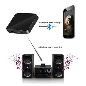 Image 5 - Bluetooth 5.0 Ontvanger A2DP Muziek Ontvanger Mini 30Pin Draadloze Stereo Audio Adapter Voor Sounddock Ii 2 Ix 10 Draagbare Speaker