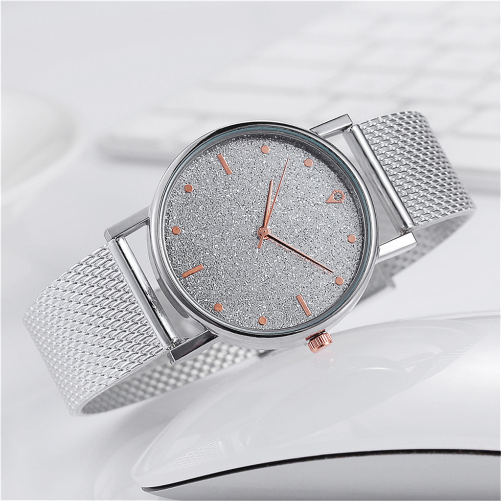 Fast delivery Business Women Watch Luxury Watches Quartz Watch Stainless Steel Dial Casual Bracele Watch Female Gift Cheap 2