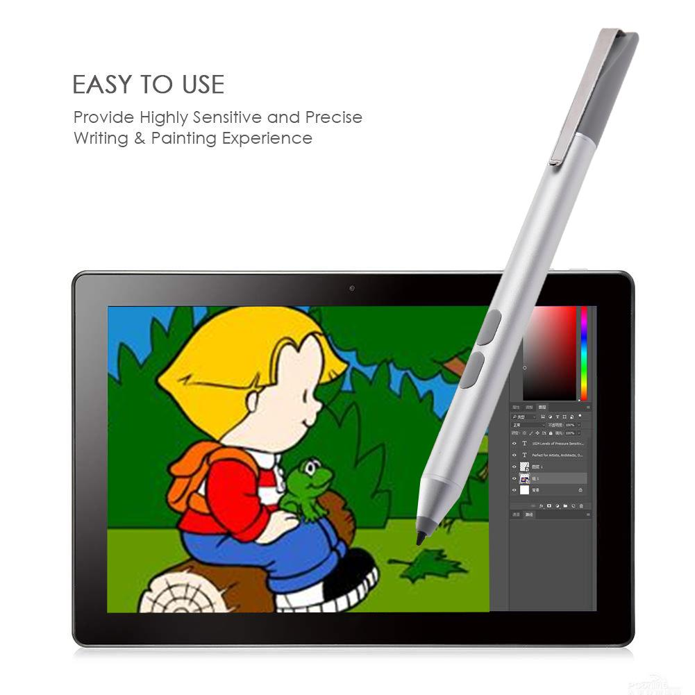 Active Stylus Pen 1024 Level Pressure Sensitivity Surface Laptop Stylus Pen For Microsoft ASUS HP Sony And Acer