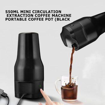 Przenośny kubek do kawy 500Ml Mini elektryczny ekspres do kawy Auto Usb ekspres do kawy ekspres do kawy ekstrakcja szybkie zaparzanie kawy tanie i dobre opinie 小米有品 1 szklanki 100w Cafe american Maszyna do kawy 110-220v STAINLESS STEEL Portable Coffee Machine