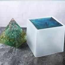 Прозрачная силиконовая форма формы в форме пирамиды самодельные