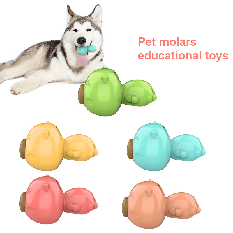 Pet Popular Toys Dog Chew Toy Dispensing Rubber For Aggressive Chewers Treat Teeth Cleaning Toy Dog Toys For Small Dogs