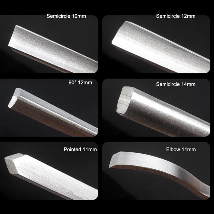 12 pçs set Carving Cinzel Gravura Ferramentas