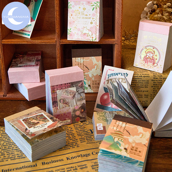 YueGuangXia Old Age Mini Washi Stickers Decorative Book Deco Scrapbooking Bullet Doodling Journal Toy Stationery 80pcs 6 designs mr paper 4 designs 100pcs lot animal daily deco washi diary stickers scrapbooking planner bullet journal doodling stationery
