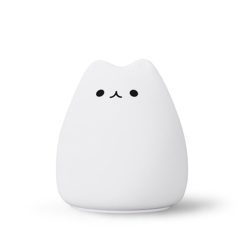 Creative LED Lovely Cute Clever Cat Battery Night Light Home Decoration Atmosphere Eye Protection Touch Lamp