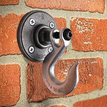 hook bathroom for hanger Heavy industry vintage coat hook Creative style wall hook coat hook Hanging heavy hooks