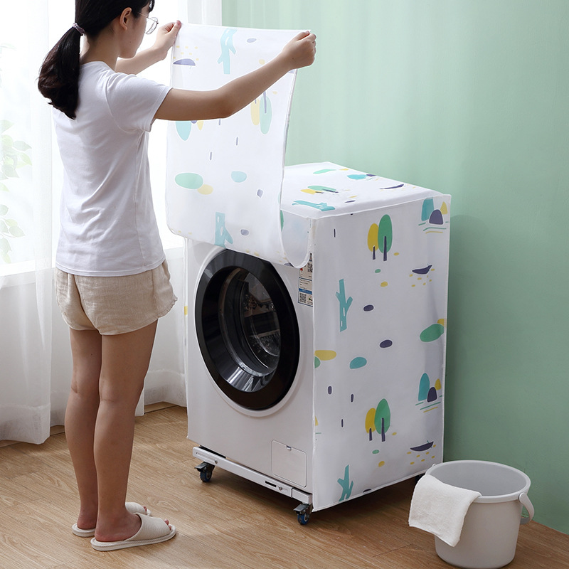 Washing Machine Covers With Zipper And Breathable Protector Coat For Home Design