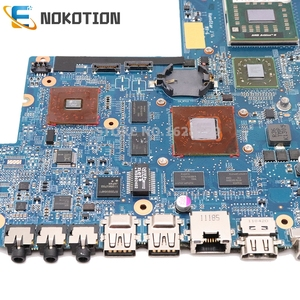 Image 5 - NOKOTION laptop motherboard for HP DV6 DV6 6000 series 640454 001 Socket s1 free cpu 1gb graphics full test