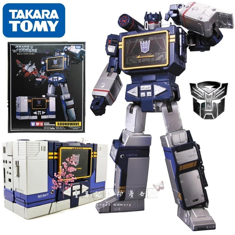 TAKARA TOMY Transformation Master Piece MP13 CAR Metal Part Autobots Action Figure Deformation Robot Children Gift Toys