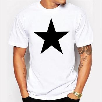 Summer Streetwear Men T shirt Funny Print Pentagram Plus Size Top Short Sleeve O Neck Rogue Fashion Casual Harajuku Tshirt Male - discount item  35% OFF Tops & Tees
