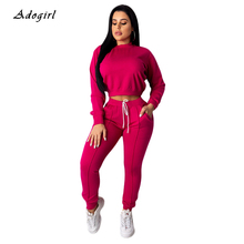 Solid Pockets Women's Tracksuit Casual Long Sleeve Hoodie Top With Pencil Pants Two Piece Set Elegant Slim Sports Women Sets grey causal two side pockets hoodie