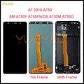 Для samsung A7 2018, дисплей для Samsung Galaxy A7 A750 A750G, мобильный телефон, сенсорный экран, дигитайзер в сборе