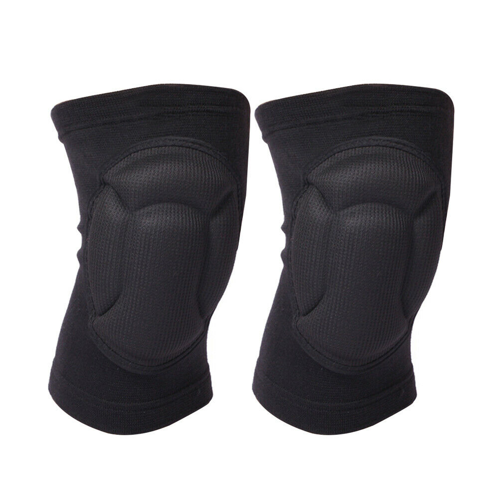 1 Pair Knee Pads Cycling Joint Protector Work Safety Wrap Brace Thickened Outdoor Sports Gardening Protective Gear Kneelet Adult