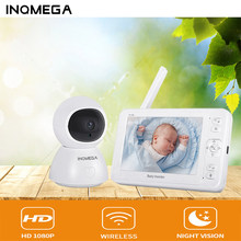 Baby Monitor Wireless Video Anny Music Walkie-talkie Temperature Sensor Lullaby Nanny Night Vision Monitoring 2-channel Audio