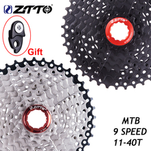 ZTTO 9 מהירות קלטת 11 40 T רחב יחס Freewheel אופני הרי MTB אופניים קלטת גלגל תנופה סבבת תואם עם sunrace