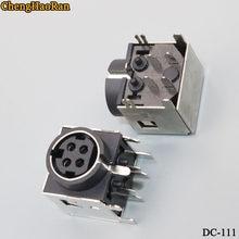 Chengaoran – lot de 2 bornes d'alimentation cc, connecteur DIN femelle, prise de courant, PS2, 4 broches C