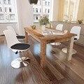 VidaXL обеденные стулья 4 шт. Регулируемый по высоте Поворотный Белый/Черный 242252