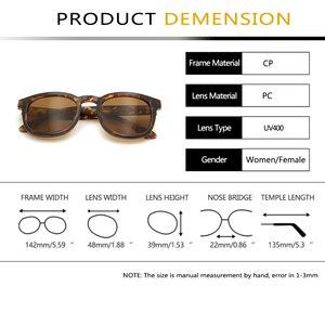 Image 5 - בציר עגול משקפי שמש לנשים גברים רטרו גבירותיי משקפי שמש סקסי גבירותיי בינוני Occhiali דה בלעדי דונה UV הגנה