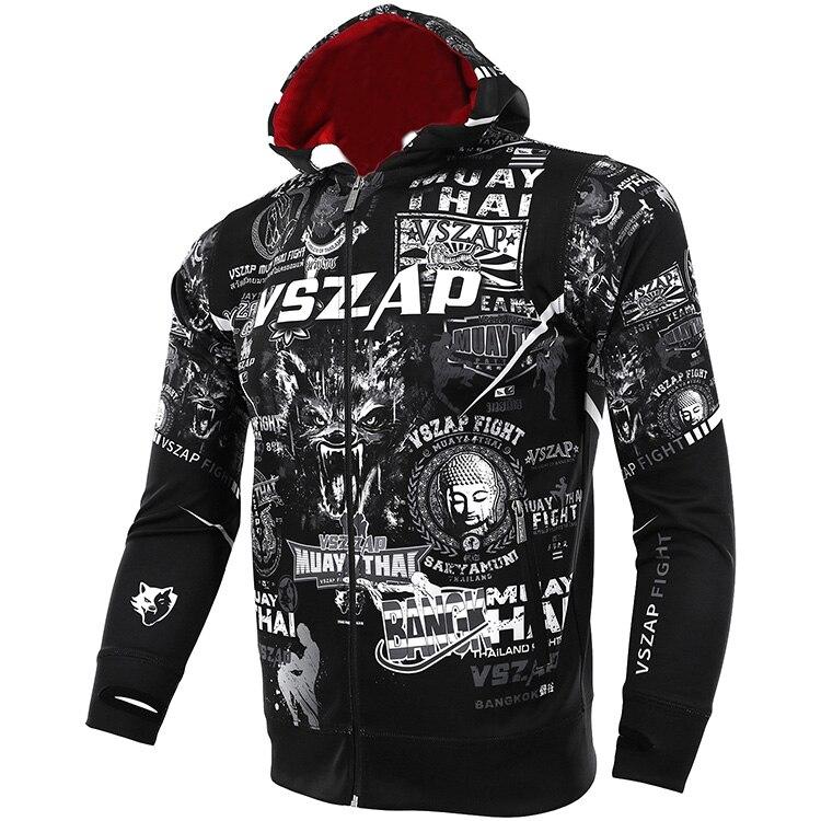 Apparel - VSZAP Muay sweater met kap