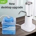 SaengQ водяной насос дозатор бутылка питьевой воды насос мини бочкообразные водяной насос электрический USB зарядка Автоматическая Портативны...