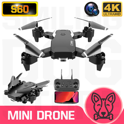S60 Mini Drone 4K HD Wide Angle Camera 1080P WiFi FPV Drone Dual Camera Quadcopter Height Keep Drone Camera Dron Helicopter Toy