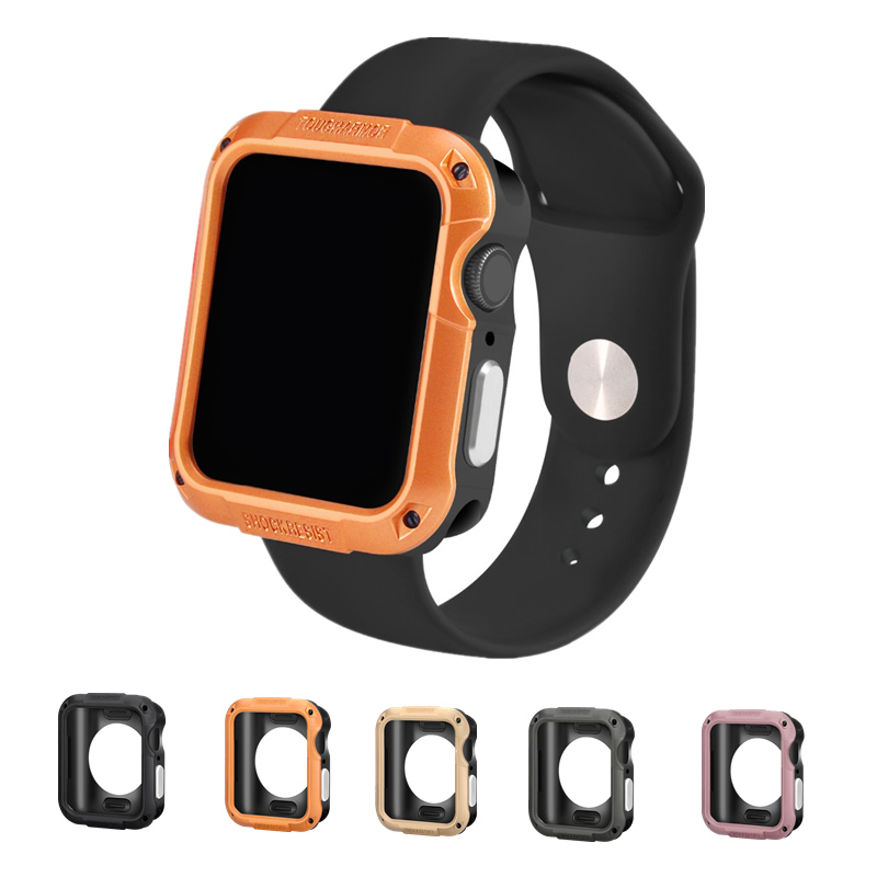 Rugged SGP Protector case cover for <font><b>Apple</b></font> <font><b>Watch</b></font> 4 5 44/40 mm Anti-fall case for iwatch series <font><b>3</b></font>/2/1 42/<font><b>38</b></font> mm <font><b>watch</b></font> accessories image