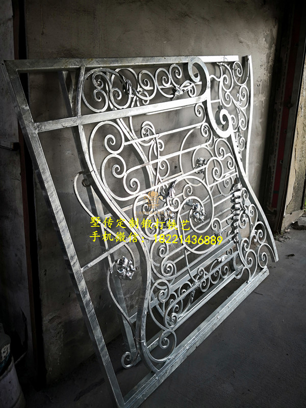 Hench 100% Handmade Forged Custom Designs Wrought Iron Gate