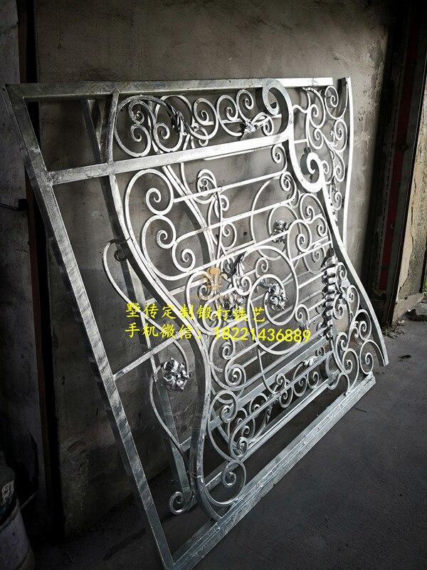 Hench 100% Handmade Forged Custom Designs Wrought Iron Gate