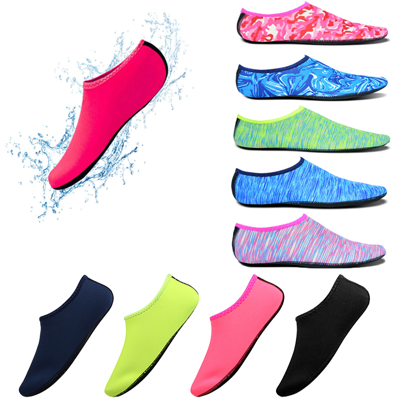 2019 Beach Swimming Water Sport Shoes Men Women Anti Slip Socks Yoga Fitness Dance Swim Surfing Diving Underwater Shoes