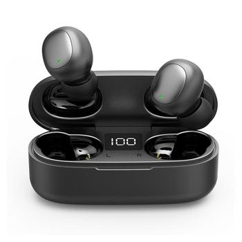 QCY T3 TWS Wireless Control Earphones with Mic Dual Bluetooth V5.0 Sports Headphones 3D Stereo Earphone for All Phones